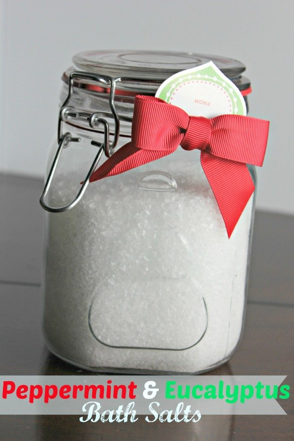 Peppermint and Eucalyptus Bath Salts – 3 Ingredients