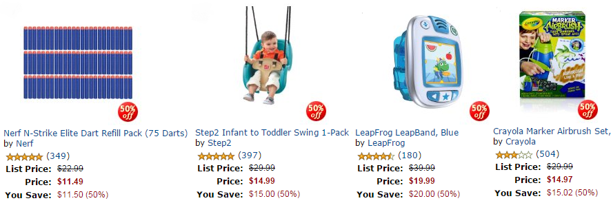 HOT Amazon Toy Deals – Up to 50% OFF Baby Alive, Nerf, LeapFrog & More!