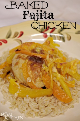 baked fajita chicken 02