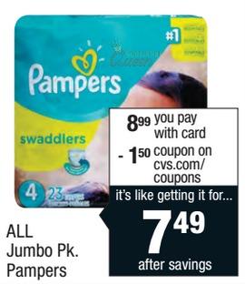 New Pampers Coupons + Walgreens & CVS Deals!