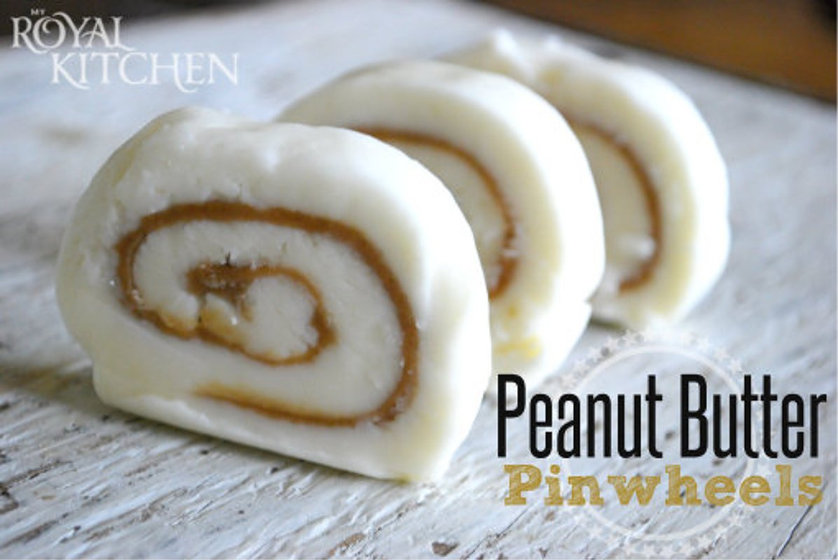 Peanut Butter Pinwheels Recipe