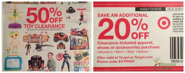 754aa69737c HOT  50% Off Toy Department And Extra 20% Off Clearance Clothing At ...