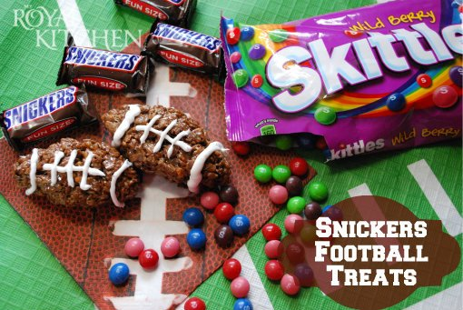 Get Ready For the Big Game with SNICKERS® and Skittles®! #BigGameTreats #Ad