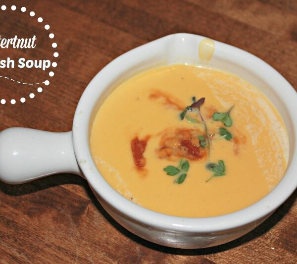 Slow Cooker Butternut Squash Soup Recipe {Paleo}