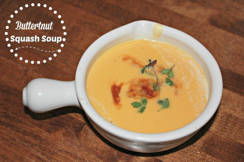 Slow Cooker Butternut Squash Soup Recipe {Paleo}