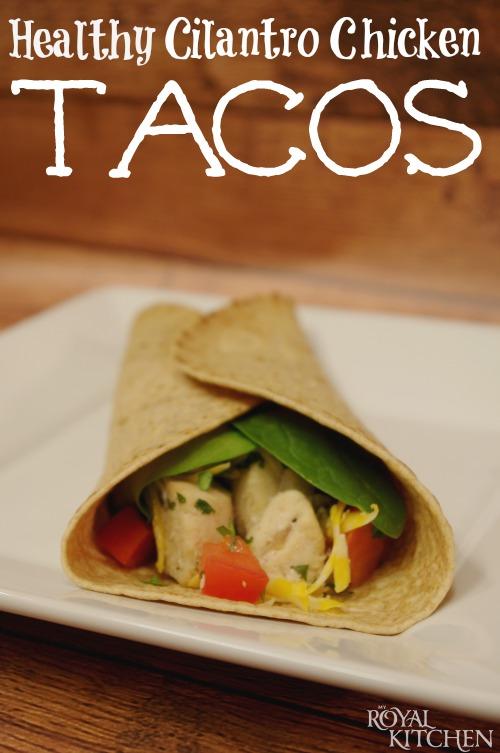 Cilantro Chicken Tacos