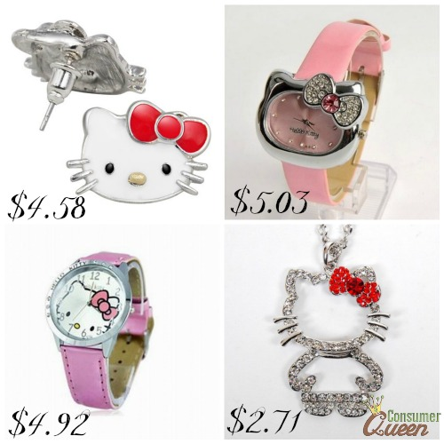 92eb0fb62 Hello Kitty Jewelry $5.03 And Less On Amazon! FREE Shipping!