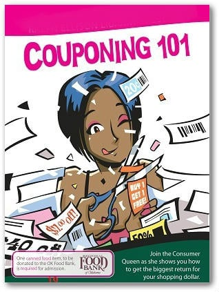 Beginner's Coupon Class:  Moore Library 1/12!