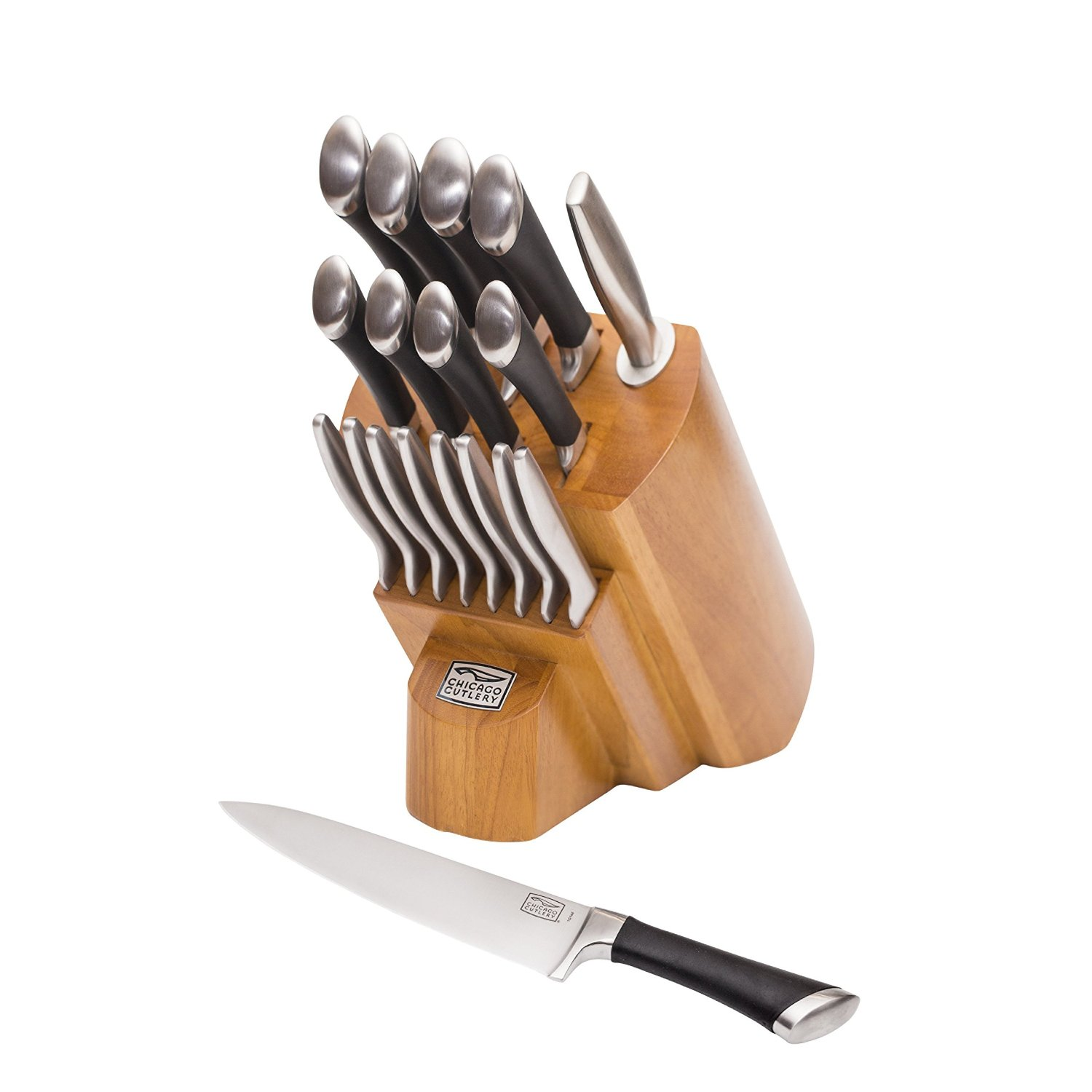 Chicago Cutlery 18-Piece Knife Block Set over 45% Off!