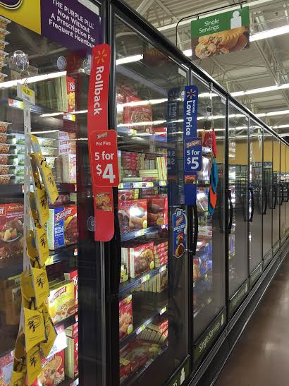 Be on the Lookout for Banquet Meals on Rollback at Walmart! #LowPriceMeals #ad