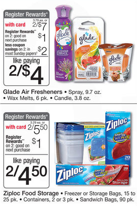 Like Glade coupons? Try these...