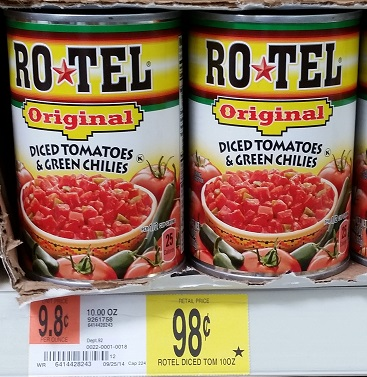 B3g1 Free Rotel Coupon Target Walmart Deals