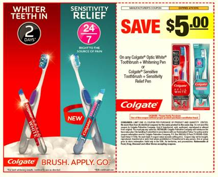 educationcenter.ml: Colgate Whitening Toothbrush. Includes Colgate Optic White Toothbrush + Teeth Whitening Pen (soft-bristles) Amazon's Choice for