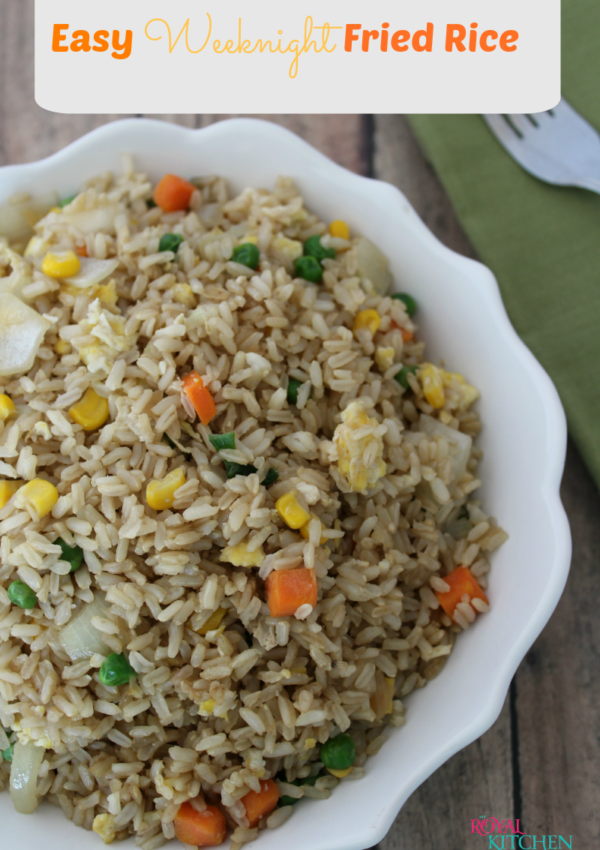 Easy Weeknight Fried Rice