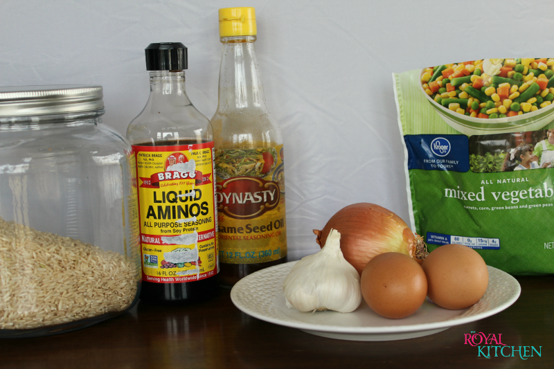 Easy Weeknight Fried Rice Ingredients