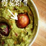 Secret Tip To Keep Guacamole Fresh!