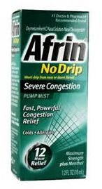 afrin no drip nasal spray