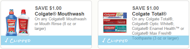 New $1.00/1 Colgate Coupons + Store Deals (as low as 99¢!)