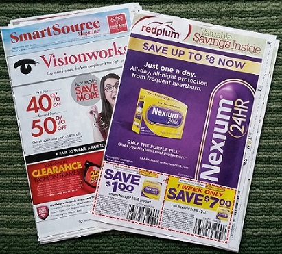 Whole Regional Coupon Inserts weekly. You are paying for the time to sort, pack and ship them to you. They are High Value inserts.