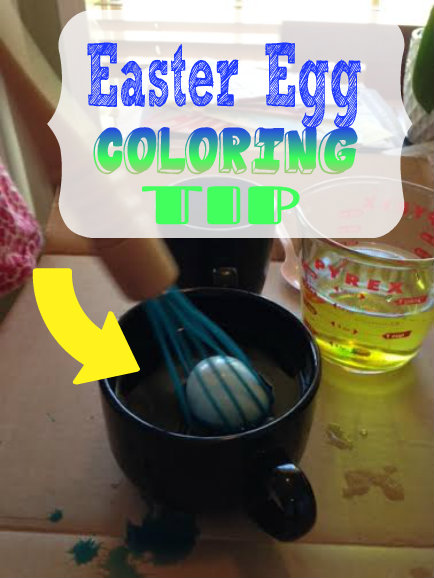 Check Out This Easter Egg Coloring Tip