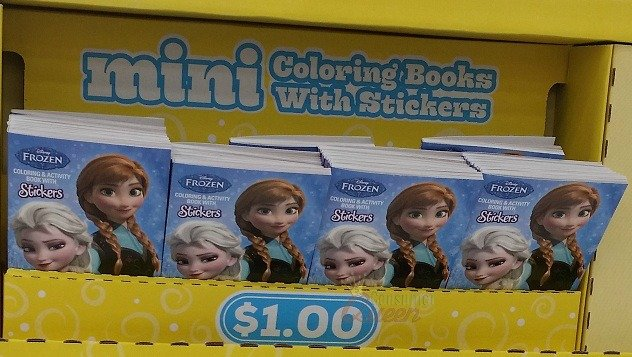 Walmart: Frozen Mini Sticker Books $1.00 - No Coupon Needed