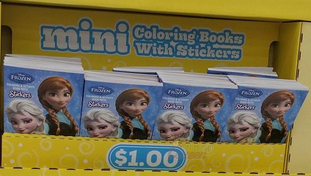 Walmart Frozen Mini Sticker Books 100