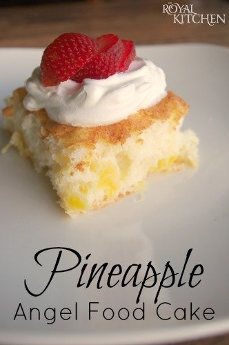 Angel Food Cake Pineapple Cool Whip Weight Watchers