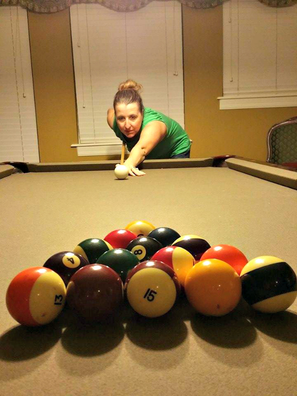 All Star Vacation Homes pool table