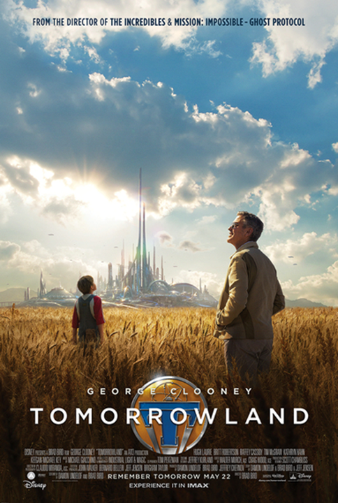 TOMORROWLAND in Theaters Today!