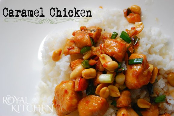 Spoonsfull Of Love: Caramel Chicken