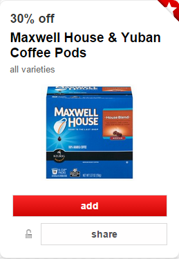 Maxwell House Single Serve K Cups As Low As 6 49 At Target