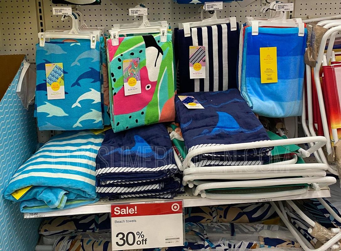 beach towels at target