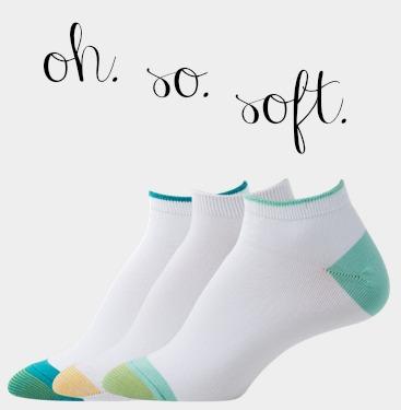 Gold Toe's Ultra Soft, Oh. So. Soft Socks Make My Feet Happy!