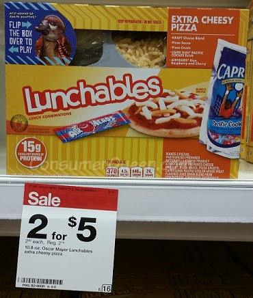 Get Lunchables For 2 00 At Target