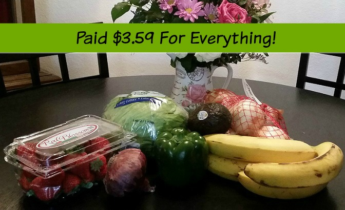 Queen Mum's Produce Haul From Walmart – Paid Only $3.59!
