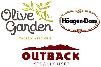 Restaurant Deals: Olive Garden, Outback Steak House, Haagen-Dazs