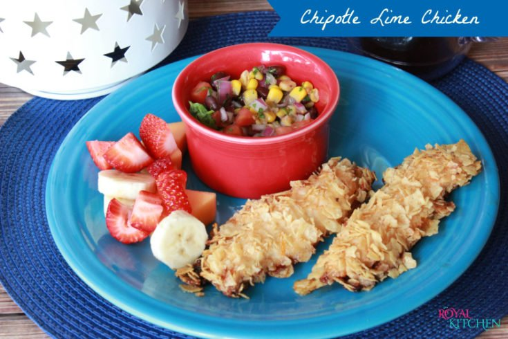 Chipotle Lime Crusted Chicken Tenders
