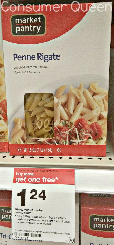 pasta tonight? If so, head to Target and pick up Market Pantry pasta ...
