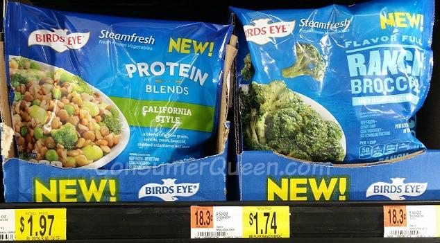 Birds Eye Steamfresh Flavor Full AND Protein Blends Under 50¢ at Walmart!