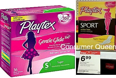 Playtex & Carefree Products, as Low as 82¢ at Target!