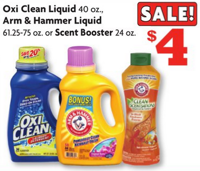 $1.00 OxiClean Detergent at Family Dollar (or Walmart!)