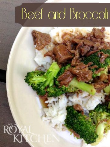 Beef And Broccoli in the Slow Cooker