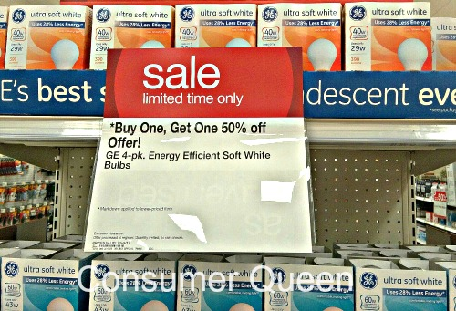 GE Ultra Soft White Light Bulbs only $0.44 Per Bulb!