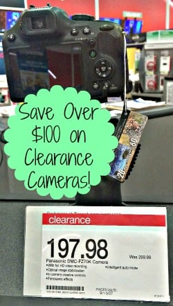 HOT Clearance Find on Panasonic Cameras at Target!