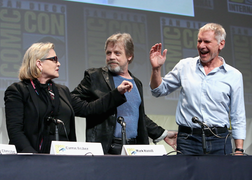 STAR WARS: THE FORCE AWAKENS: Comic-Con Reel Now Available!