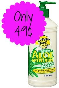 Banana Boat Aloe After Sun Lotion Only 49 162 At Target