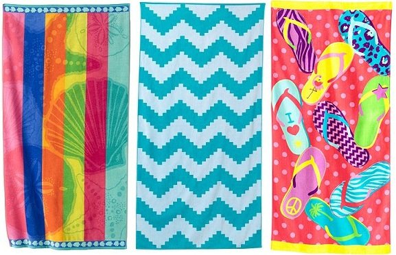 Kohl's: The Big One Beach Towels Only $6.00 (Reg. $29.99)!