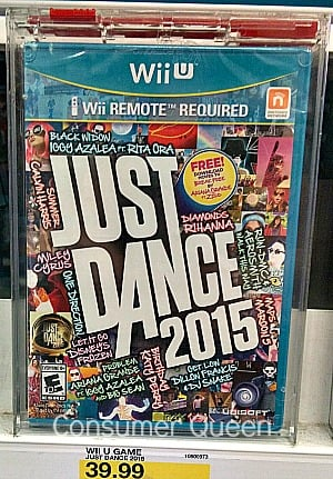 50% Off Just Dance 2015 Video Game at Target!