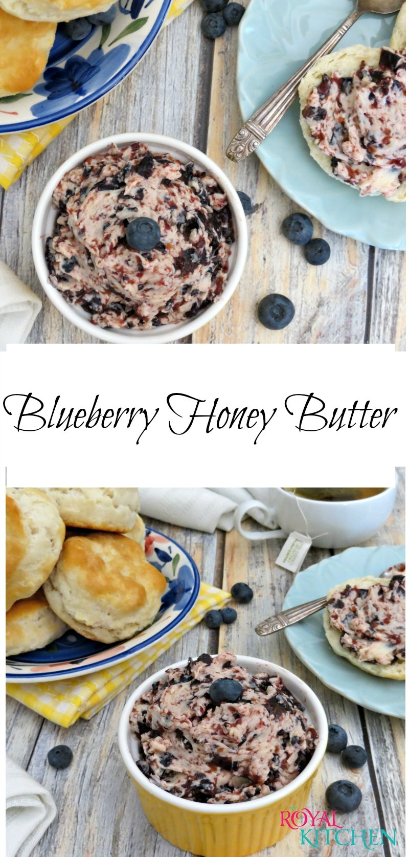 Blueberry Honey Butter