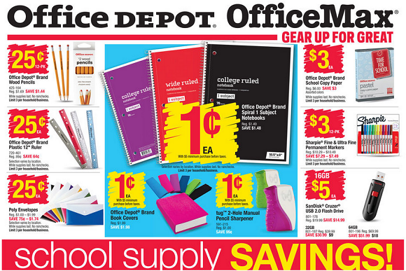 Shop Office Depot and Office Max for back-to-school supplies, such as backpacks, spiral notebooks, and USB drives. No promo code required -- just click the link to start shopping and saving. No promo code required -- just click the link to start shopping and saving/5(16).